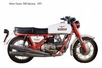 Moto Guzzi 500 Falcone - 1971