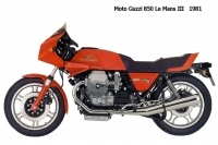 Moto Guzzi 850 LeMansIII - 1981