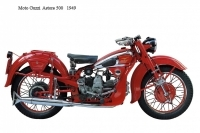 Moto Guzzi Astore 500 - 1949