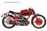 Moto Guzzi Bicilindrica 500 - 1947