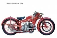 Moto Guzzi C4V 500 - 1926