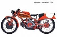 Moto Guzzi Dondolino 500 - 1948