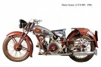 Moto Guzzi G.T.S. 500 - 1936