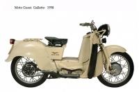 Moto Guzzi Galletto - 1958