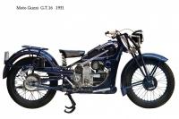 Moto Guzzi GT16 - 1931