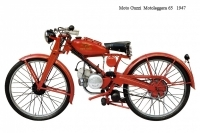 Moto Guzzi Motoleggera 65 - 1947