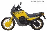 Moto Guzzi NTX750 - 1988
