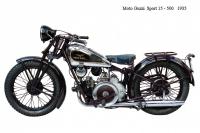 Moto Guzzi Sport15 500 - 1935
