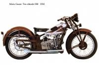 Moto Guzzi TreCilindri 500 - 1932
