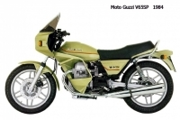 Moto Guzzi V65SP - 1984