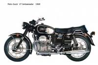 Moto Guzzi V7 Ambassador - 1969