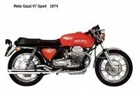 Moto Guzzi V7 Sport - 1974