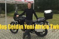 'Hoş Geldin Yeni Africa Twin'