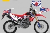 Honda Crf 250 L Sticker Seti