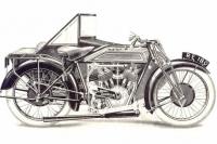 Royal Enfield 1926 Model 182 sidecar
