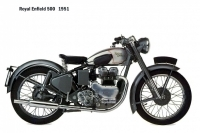 Royal Enfield 500 - 1951