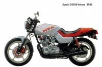 Suzuki GS550 Katana - 1982
