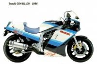 Suzuki GSX R1100 - 1986