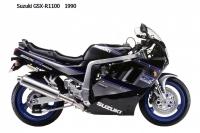 Suzuki GSX R1100 - 1990