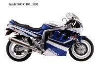 Suzuki GSX R1100 - 1991