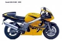 Suzuki GSX R600 - 1999