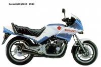 Suzuki GSX550ES - 1983