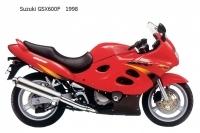 Suzuki GSX600F - 1998
