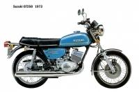 Suzuki GT250 - 1973