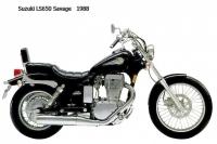Suzuki LS650 Savage - 1988