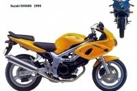 Suzuki SV650S - 1999