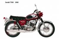 Suzuki T500 - 1968
