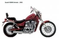 Suzuki VS800 Intruder - 1992