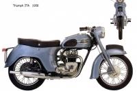 Triumph 3TA - 1958