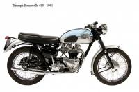 Triumph Bonneville 650 - 1961
