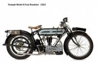Triumph Model R - 1923