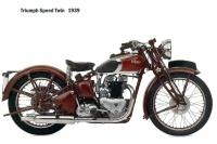 Triumph SpeedTwin - 1939