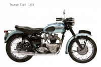 Triumph T110 - 1956