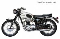 Triumph T120 Bonneville - 1966
