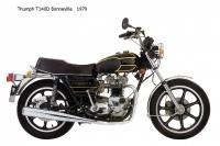 Triumph T140D Bonneville - 1979