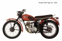 Triumph TA20 TigerCub - 1959