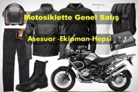 Motosiklette Genel-Satış-Ekipman-Hepsi
