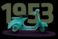 Vespa 125 U - 1953