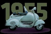Vespa 150 side car - 1955