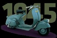 Vespa MP 6 Prototip - 1945