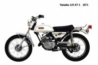 Yamaha 125 AT1 - 1971
