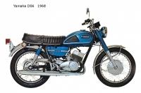Yamaha DS6 - 1968