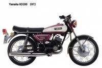 Yamaha RD200 - 1972