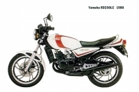 Yamaha RD250LC - 1980
