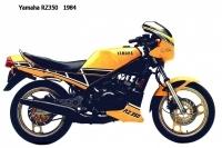 Yamaha RZ350 - 1984