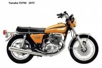 Yamaha TX750 - 1973